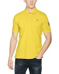 Polo jaune Napapijri