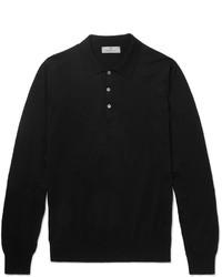 Polo noir Canali