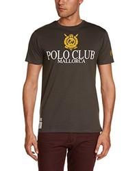 Polo noir Polo Club Mallorca