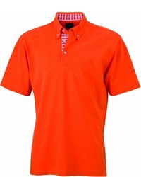 Polo orange James & Nicholson