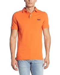 Polo orange Superdry