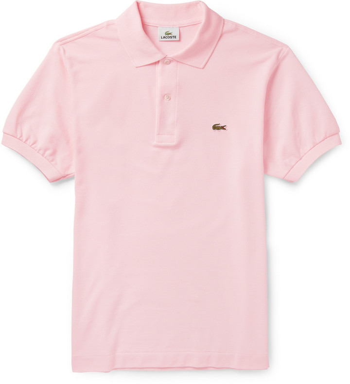 b1a9b8ef6c Polo rose Lacoste, €80 | MR PORTER | Lookastic France