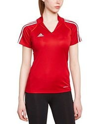Polo rouge adidas