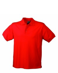 Polo rouge James & Nicholson