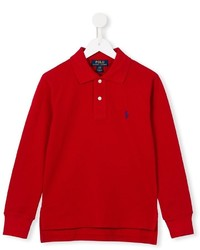 Polo rouge Ralph Lauren