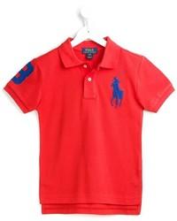Polo rouge Ralph Lauren