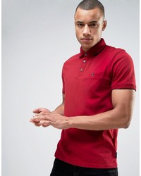 Polo rouge Ted Baker
