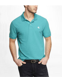 Polo turquoise