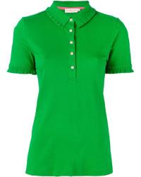 Polo vert Tory Burch