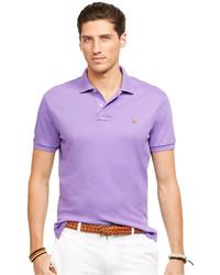 Polo violet clair