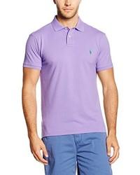 Polo violet clair Polo Ralph Lauren