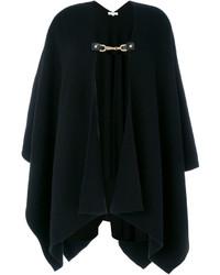 Poncho en tricot noir MICHAEL Michael Kors