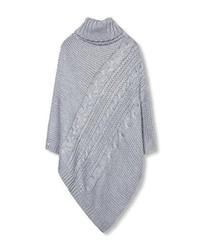 Poncho gris Esprit