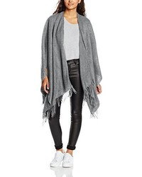 Poncho gris Only