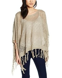 Poncho gris Pieces