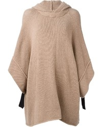 Poncho marron See by Chloe