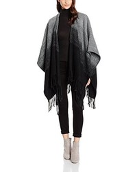 Poncho noir Only
