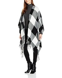 Poncho noir Tom Tailor Denim
