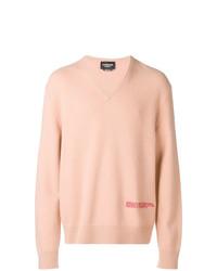 Pull à col en v rose Calvin Klein 205W39nyc
