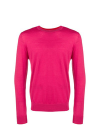Pull à col rond fuchsia Ps By Paul Smith