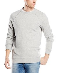 Pull à col rond gris ONLY & SONS