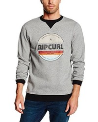 Pull à col rond gris Rip Curl