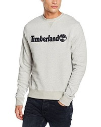 Pull à col rond gris Timberland