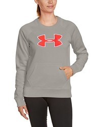 Pull à col rond gris Under Armour