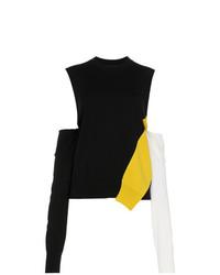 Pull à col rond imprimé noir Calvin Klein 205W39nyc