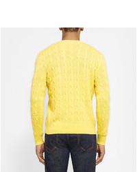 Pull à col rond jaune Polo Ralph Lauren, €354   MR PORTER ... 0af90b00bf3