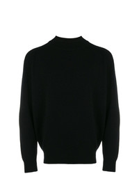 Pull à col rond noir Givenchy