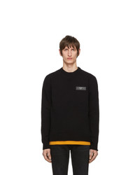 Pull à col rond noir Off-White