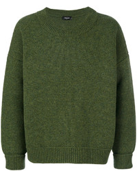 Pull à col rond olive DSQUARED2