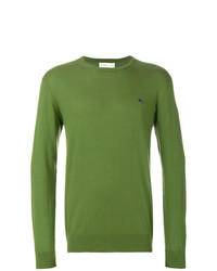 Pull à col rond olive Etro