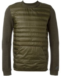 Pull à col rond olive Nike