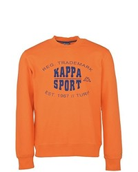 Pull à col rond orange Kappa