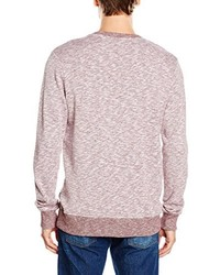 Pull à col rond rose Jack & Jones