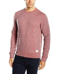 Pull à col rond rouge Lee
