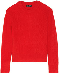 Pull à col rond rouge Rag and Bone
