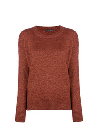 Pull à col rond tabac Etro