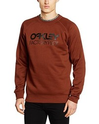 Pull à col rond tabac Oakley
