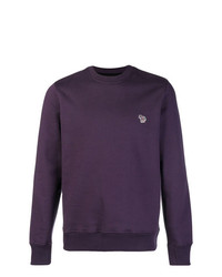 Pull à col rond violet Ps By Paul Smith