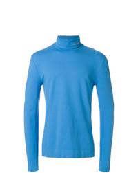 Pull à col roulé bleu Calvin Klein 205W39nyc