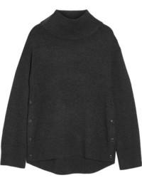 Pull à col roulé en laine gris foncé Rag & Bone