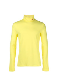 Pull à col roulé jaune Calvin Klein 205W39nyc