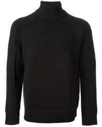 Pull à col roulé noir Givenchy
