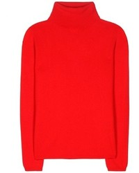 Pull a col roule rouge original 2562999