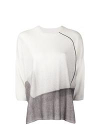 Pull à manches courtes blanc Oyuna