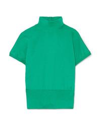 Pull à manches courtes vert Dolce & Gabbana
