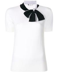 Pull blanc Lanvin